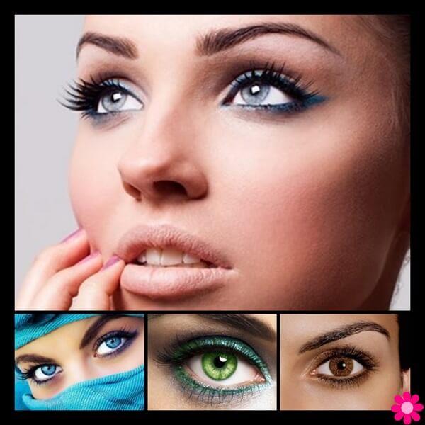 Πως να τονίσουμε το χρώμα ματιών