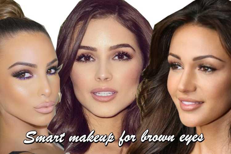 Έξυπνο μακιγιάζ για καφέ μάτια με 4 απλά βήματα!