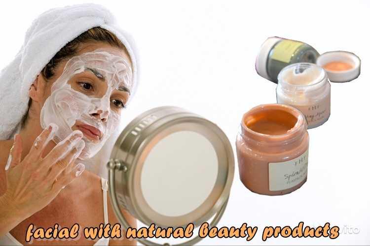 Περιποίηση προσώπου με φυσικά προϊόντα ομορφιάς