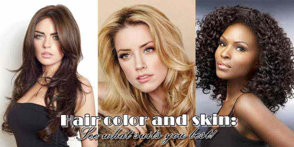 Χρώμα μαλλιών και επιδερμίδα