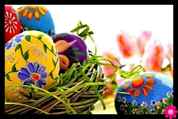 Πασχαλινά αυγά ζωγραφισμένα