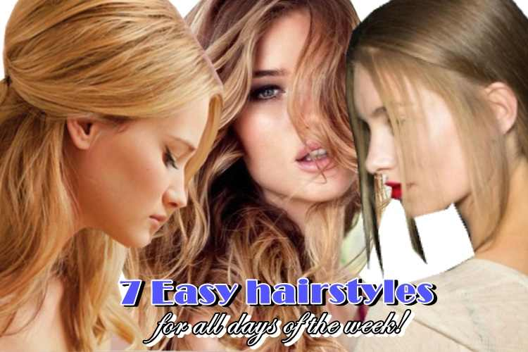 7 εύκολα χτενίσματα για μακριά μαλλιά για όλες τις ημέρες της εβδομάδας!