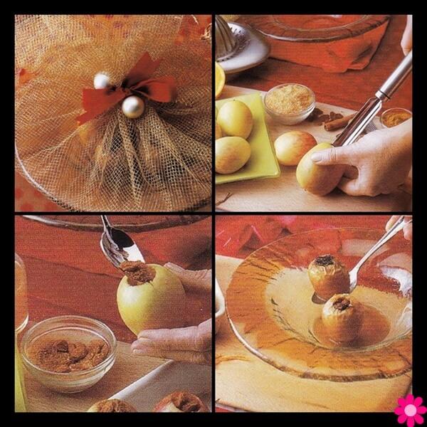 Μήλα στο φούρνο με μπαχαρικά
