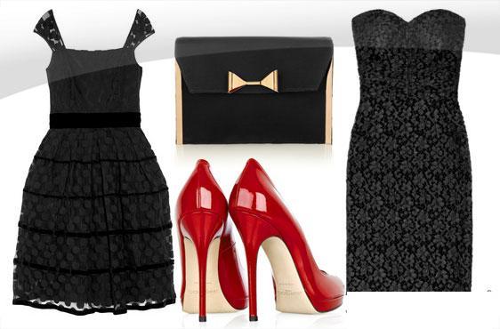 κοντο μαυρο φορεμα