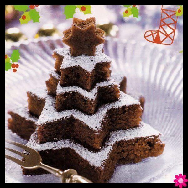 Σοκολατένιο κέικ Χριστουγέννων