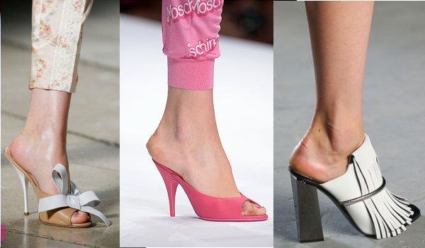 Παπούτσια Mules