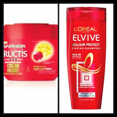 Garnier Fructis Color Resist Nourishing Mask