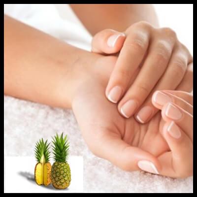 Peeling-pineapple