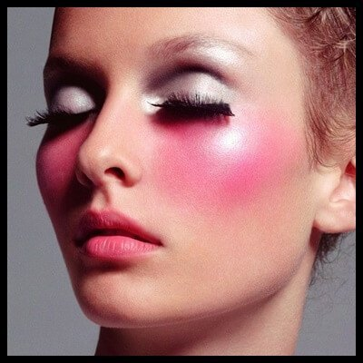 Problem with excess blush(1)-