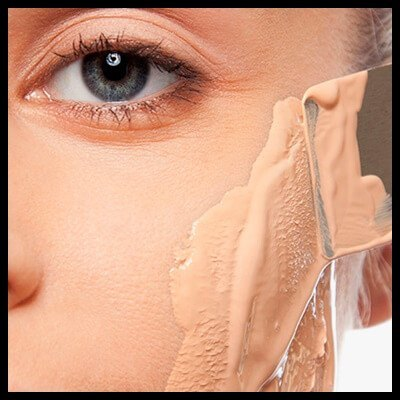 Problem with lines and traces of makeup from the base(1)-