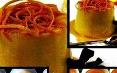 Κρεμ καραμελέ με πορτοκάλι