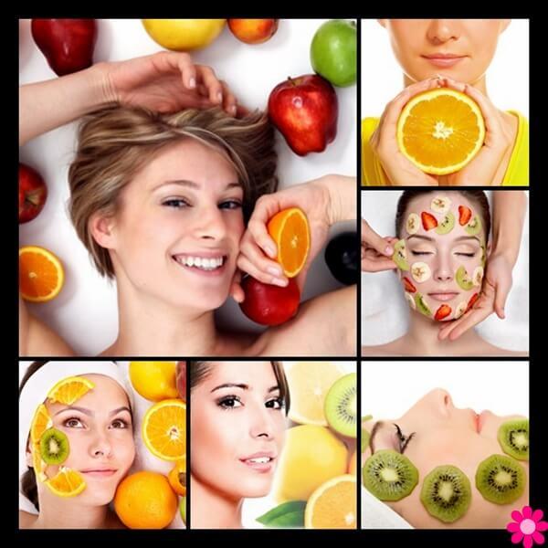 Ομορφιά προσώπου με οξέα φρούτων