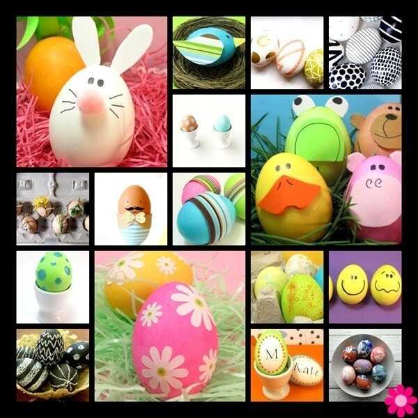 ιδέες για πρωτότυπα πασχαλινά αυγά