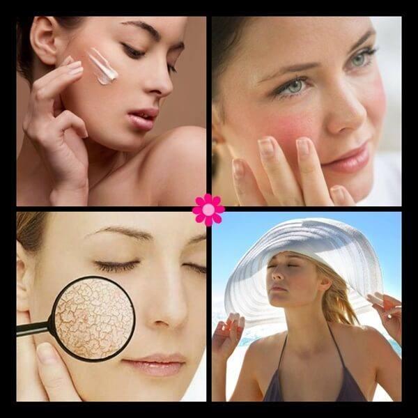 Ευαίσθητο δέρμα διατηρήστε το υγιές