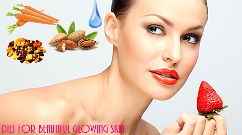 Διατροφή για όμορφο λαμπερό δέρμα