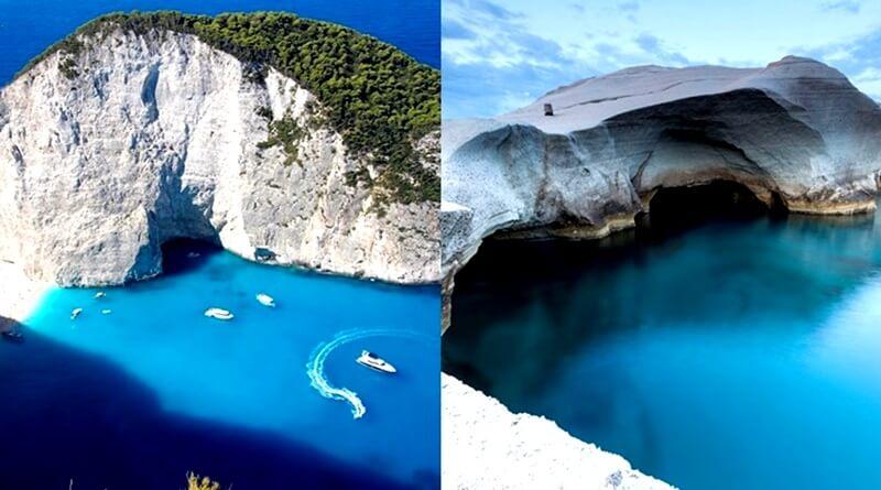 Καλοκαίρι – Θαυμάστε τις παραλίες της Ελλάδας μας