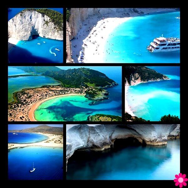 παραλίες της Ελλάδας