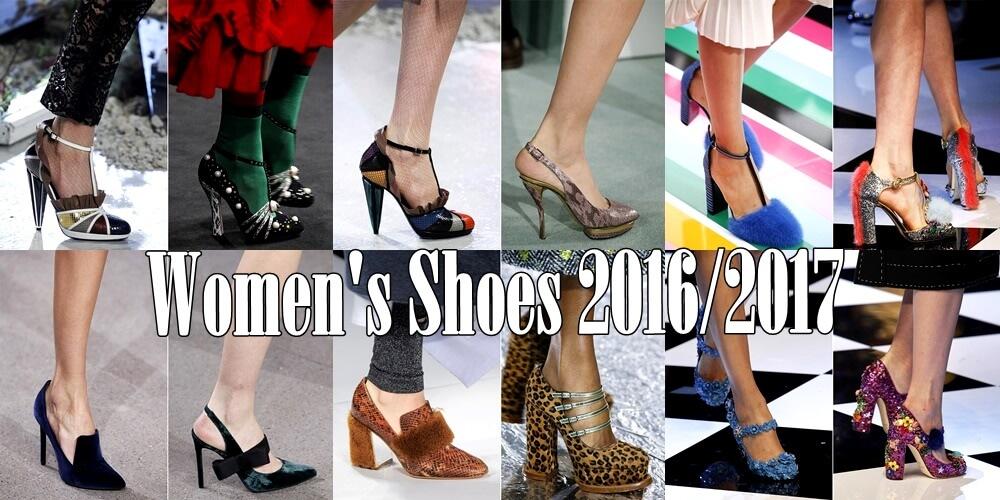 Όλη η μόδα στα γυναικεία παπούτσια για Φθινόπωρο-Χειμώνα 2016-2017