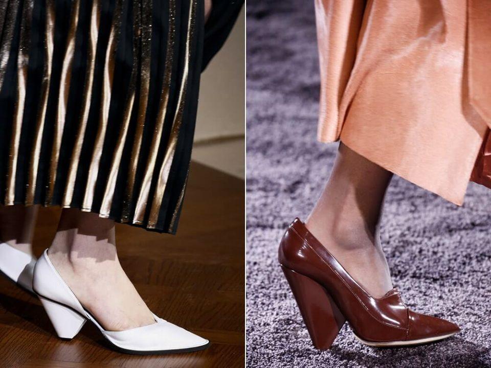 99f474a184 Μυτερά γυναικεία παπούτσια με μονοκόμματο τακούνι. 2-moda-sta-gynaikeia- papoytsia-ftinoporo-xeimonas-2016-