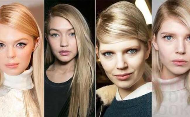 7-Μακρυά μαλλιά με χωρίστρα στο πλάι