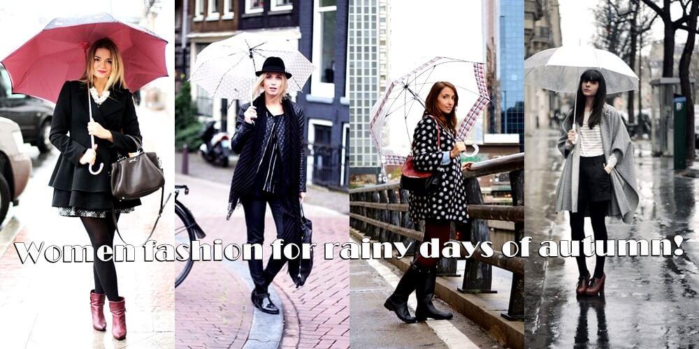 Γυναίκεια μόδα για τις βροχερές μέρες-www.beauty-secrets.gr