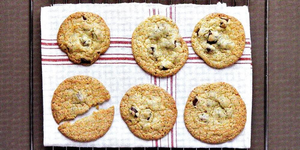 cookies με κομματάκια σοκολάτας-www.beauty-secrets.gr