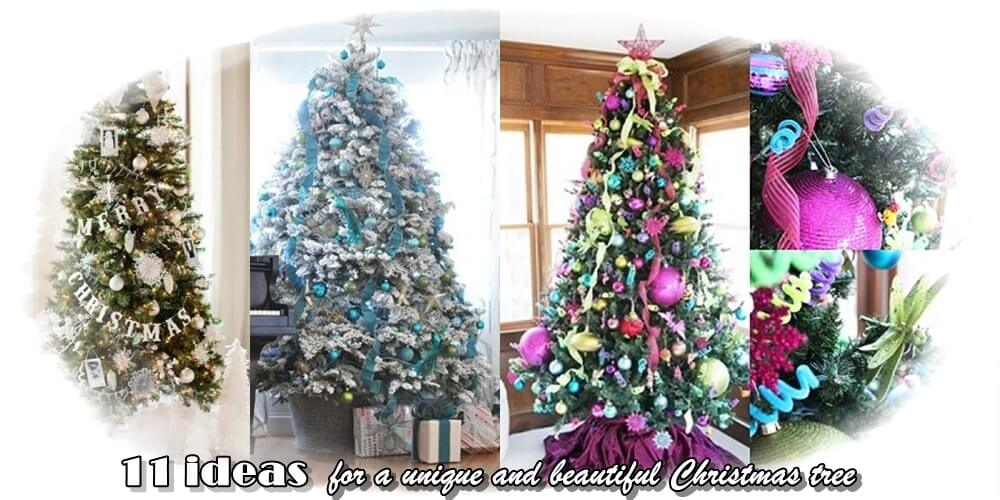 ιδέες για Χριστουγεννιάτικο δέντρο