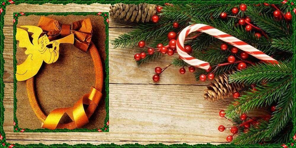 χριστουγεννιάτικο στεφάνι για την πόρτα