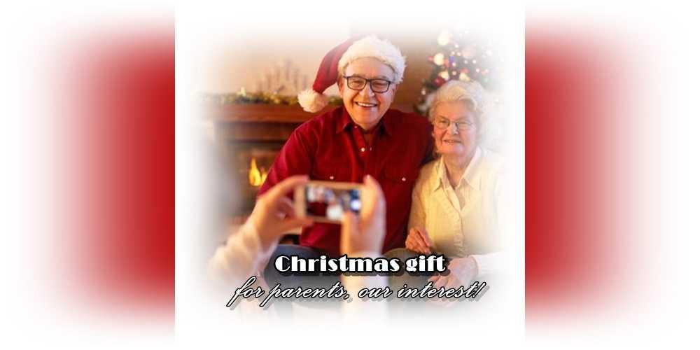 Χριστουγεννιάτικο δώρο για γονείς