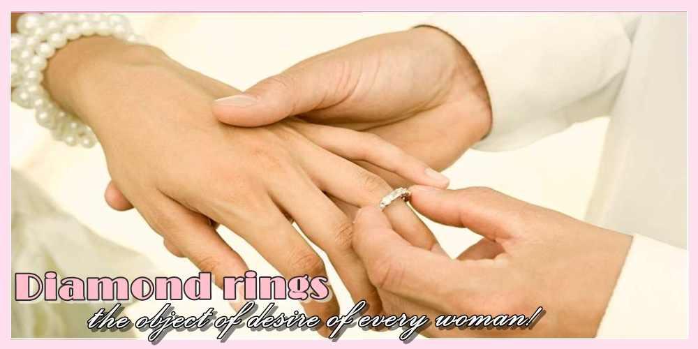 Διαμαντένιες βέρες το αντικείμενο του πόθου κάθε γυναίκας!