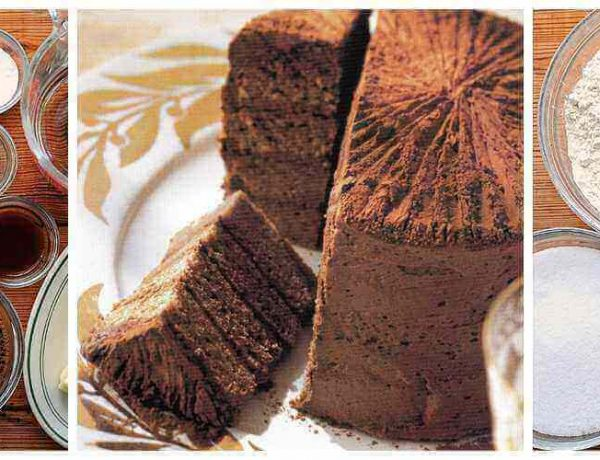 Τούρτα σοκολάτα με κακάο