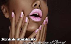 ροζ μανικιούρ