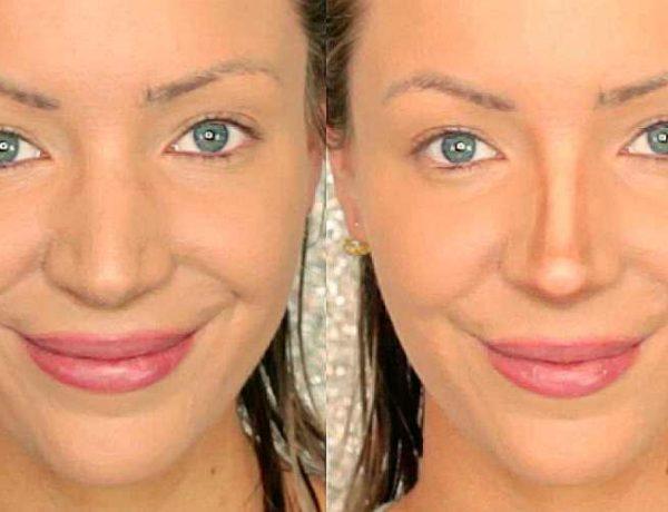 Τρικ μακιγιάζ για μεγάλη μύτη