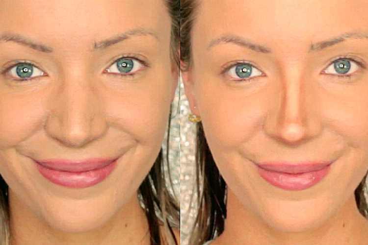 Τρικ μακιγιάζ για μεγάλη μύτη βήμα βήμα Video