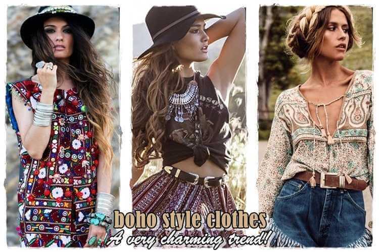 boho style ρούχα