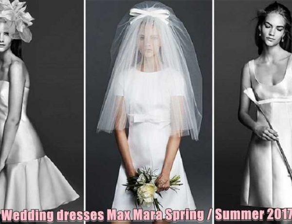 Νυφικά φορέματα Max Mara Άνοιξη/Καλοκαίρι 2017