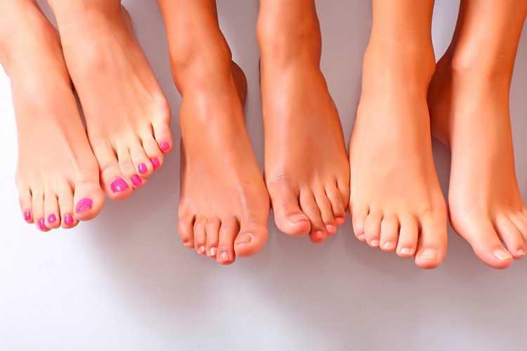 Περιποίηση νυχιών ποδιών
