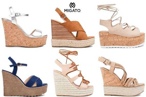 cb23429178 Migato άνοιξη 2017 Όλες οι νέες αφίξεις στα γυναικεία παπούτσια ...