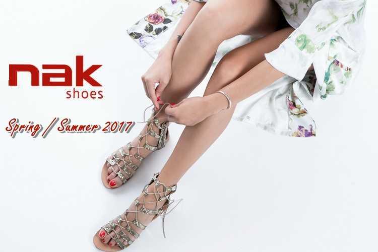 Γυναικεία παπούτσια nak Άνοιξη/Καλοκαίρι 2017