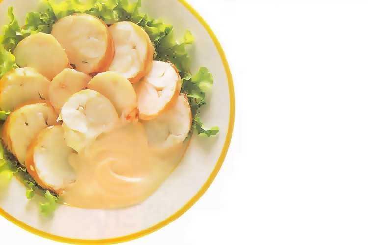 Αστακοκαραβίδα με σάλτσα μαγιονέζας σε ροδέλες!