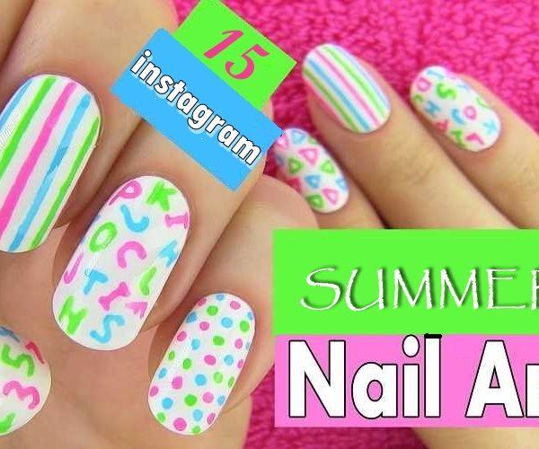 nails art video