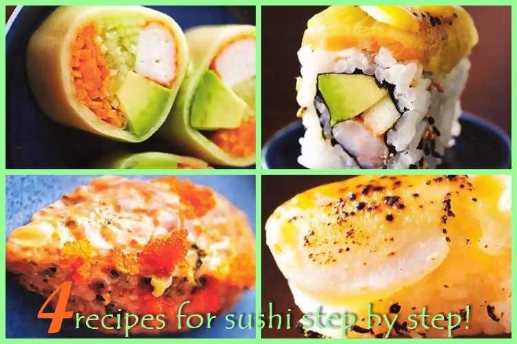 4 συνταγές για sushi βήμα βήμα!
