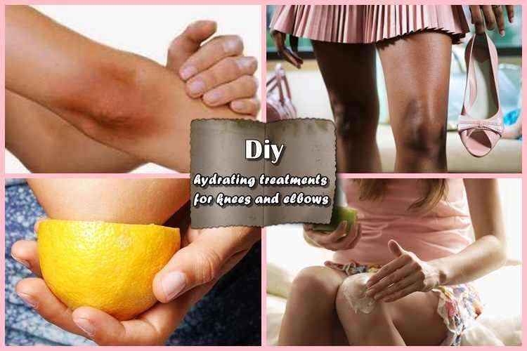 4 Θεραπείες για γόνατα και αγκώνες για ενυδάτωση & απολέπιση!