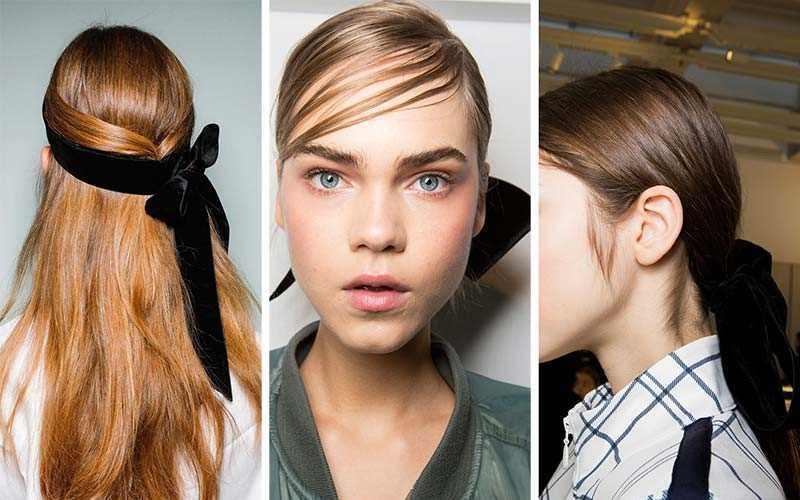 e9906a504 Ο φιόγκος είναι από τα πιο δημοφιλή αξεσουάρ μαλλιών 2018 στις πασαρέλες  της νέας σεζόν.Αναδεικνύει στη στιγμή την ponytails , το σινιόν η ένα απλό  updo ...