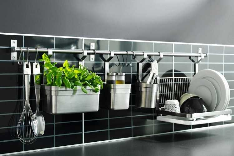 Ιδέες αποθήκευσης και οργάνωσης κουζίνας