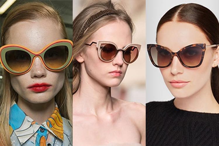 Οι 16 κορυφαίες τάσεις στα γυαλιά ηλίου για την Άνοιξη / Καλοκαίρι 2018