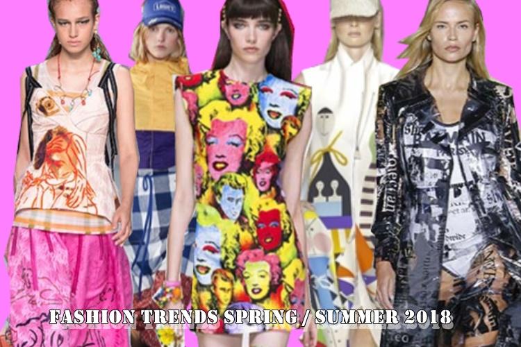 Τάσεις μόδας Άνοιξη/Καλοκαίρι 2018