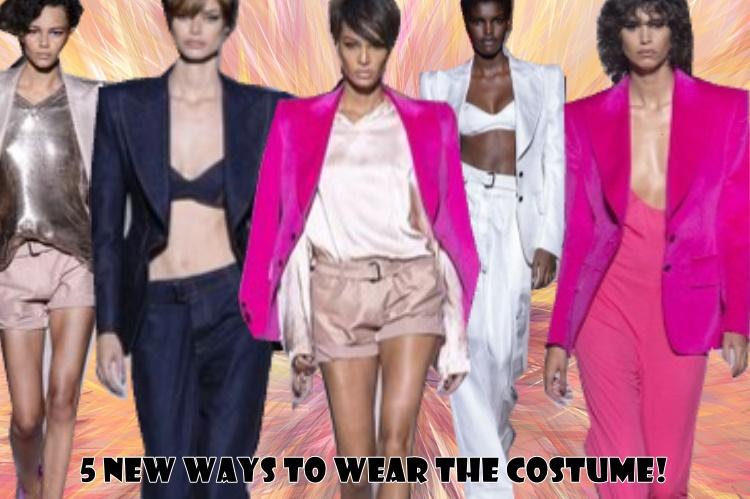 5 Νέοι τρόποι για να φορέσεις το κοστούμι!