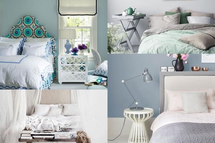 Υπνοδωμάτια σε παστέλ χρώματα για έναν ήρεμο ύπνο