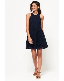 Φόρεμα αμάνικο mini closs